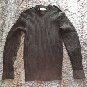 Other - Genuine Vintage Knit Army sweater